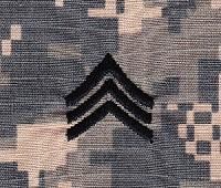 Embroidered ID-R-US, LLC - U.S. Army Sew-On Rank (Enlisted Ranks)